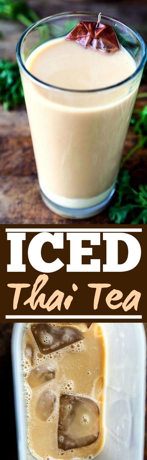 Thai Iced Tea #drinks #tea