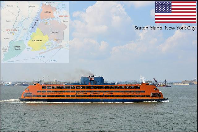 Staten Island Ferry, New York City