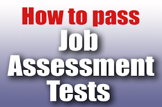 pass job assessment tests and personality tests