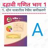 दहावी गणित ॥ 1.दोन चलातील रेषीय समीकरणे ( मराठी )॥ SSC Maths ॥ 1. Linear Equation in Two Variables ( Marathi) A