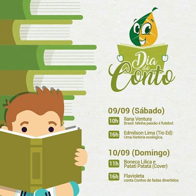 Dia do Conto na Livraria Jaqueira