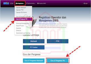 registrasi emis sdm bagi gpai