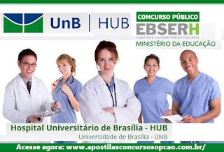 Apostila EBSERH/HUB-UnB técnico em enfermagem.