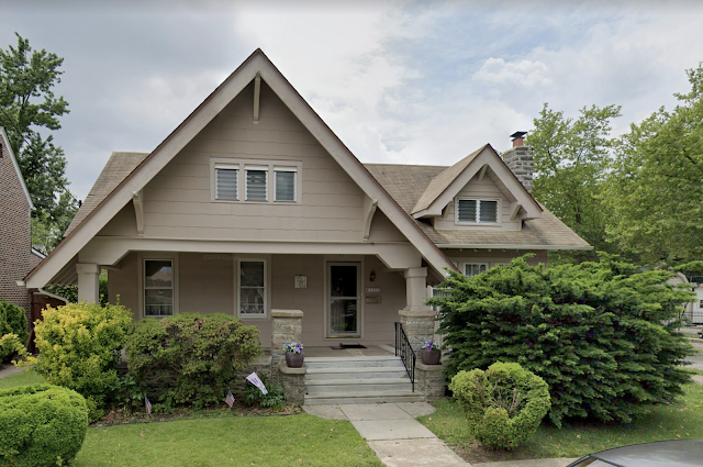 1300 Brighton St, Philadelphia, PA (Oxford Circle) Sears Kilbourne, model Google streetview front view