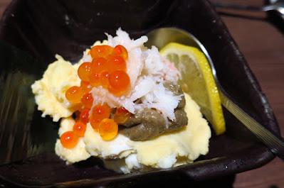 Himonoya, crab ikura kani miso