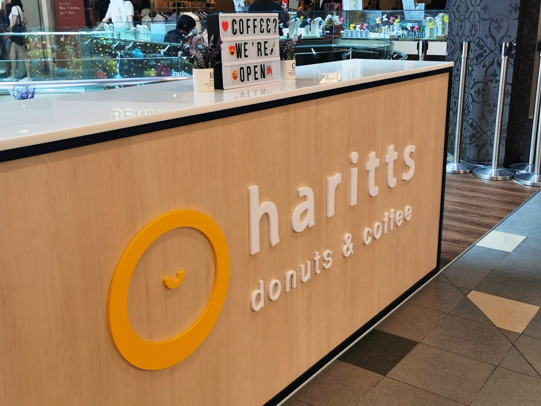 Did you know Haritts Donuts ハリッツ is in Tampines?