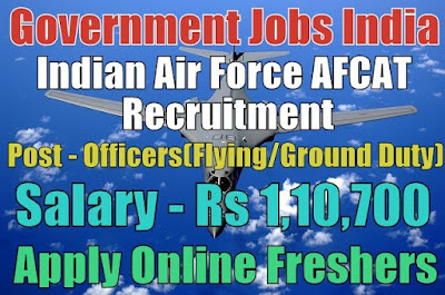 Air Force AFCAT Recruitment 2020