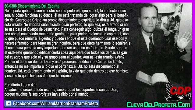 Si usted tiene un don de Dios haga esto - William Branham en Español
