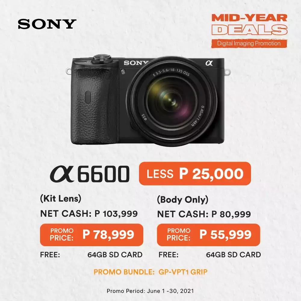 Sony A6600 Promo