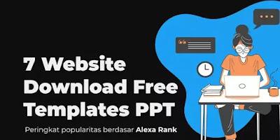 7 Web Download Free Templates PPT Menarik Unik & Gratis