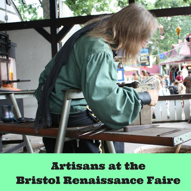 Artisans at Bristol Renaissance Faire
