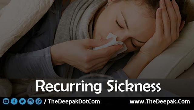 09 Recurring Sickness - Signs You are Not Drinking Enough Water