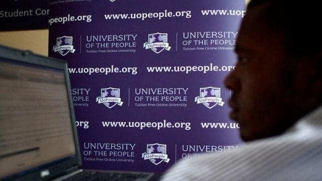 منحة جامعة الشعب الأمريكية UoPeople للدراسة عن بعد