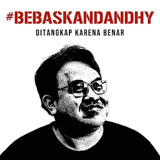 Bicara tentang Papua, pendiri WatchdoC Dandhy Laksono ditangkap