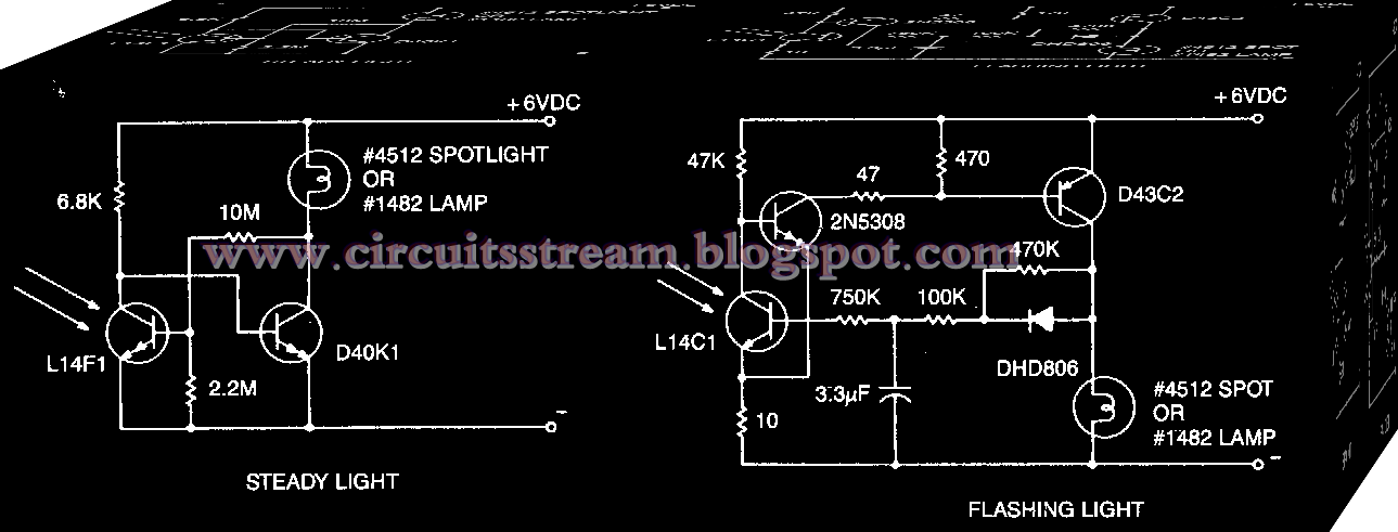 Warning Light and Marker Light Circuit Diagram