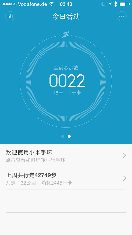 Xiaomi releases MiBand iOS App