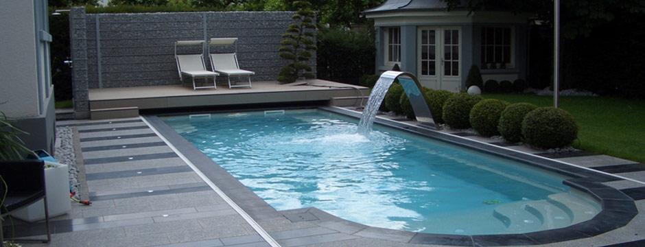 Bons plans jardinage cascade design en inox voici de - Cascade pour piscine ...