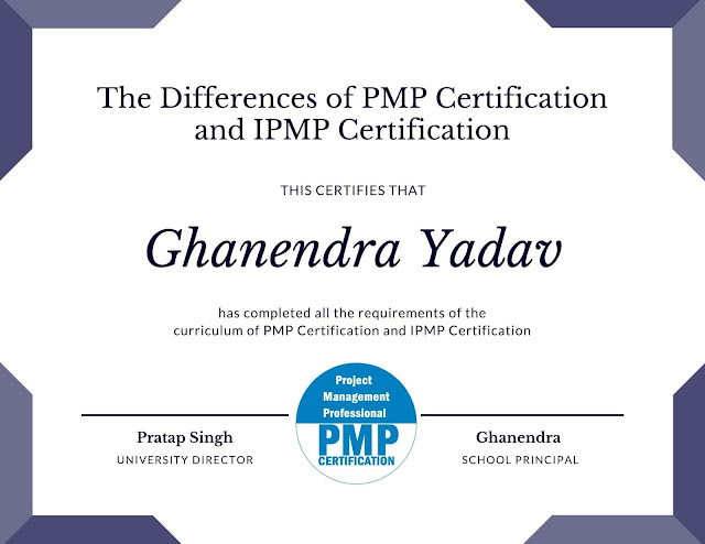 The Differences of PMP Certification and IPMP Certification