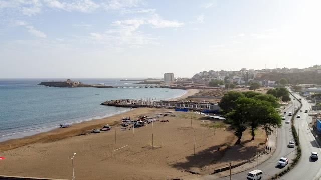 The beach of Praia