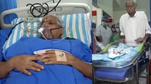 Incroyable: une femme de 74 ans donne naissance à des jumelles
