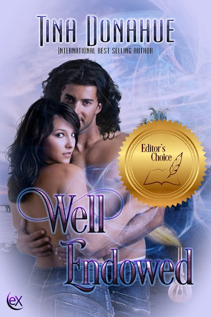 Live the Magic and Romance in this Editor's Choice Release - Well Endowed - Erotic PNR RomCom #EroticPNR #RomCom #TinaDonahueBooks