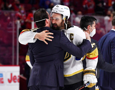 Golden Knights Captain Blames Himself for Losing to Canadiens