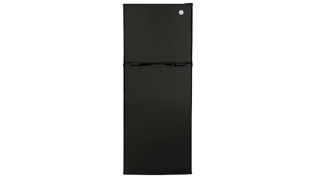 GE GPV10FGNBB Top Freezer Refrigerator