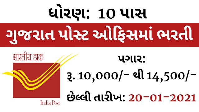 Gujarat Gramin Dak Sevak Recruitment 2020