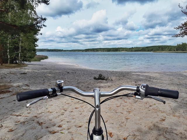 Lausitzer seenland aka Lusatian Lakeland cycling