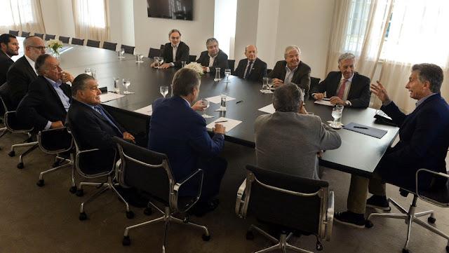 Reunión del Presidente Macri con Empresarios en Olivos