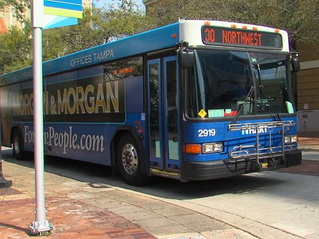 Como ir do aeroporto de Tampa até o centro turístico de ônibus e trem
