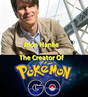 Penemu dan Creator Of Pokemon Go