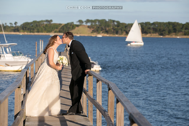 Cape Cod wedding blog photo from Chris Cook Photography about Hannah & Anthony sneak peek – Wequassett