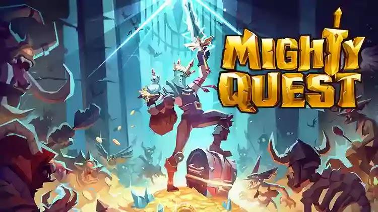 حول لعبة جديدة تمامًا من The Mighty Quest for Epic Loot Ubisoft ذوي الألعاب الشهيرة.