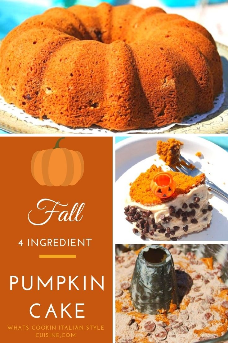 this is a pin for later pumpkin cake collage