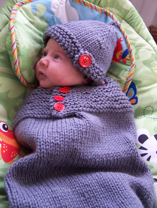Baby Cozy - Free Knitting Pattern