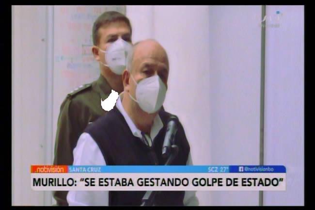 Murillo informó que se estaba gestando un golpe de Estado en el país