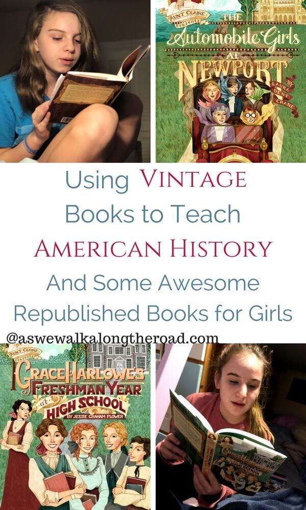 Aunt Claire Presents vintage books to teach American history