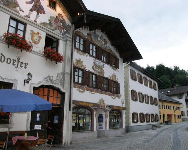 деревня, Бавария, Германия, туризм, путешествия
