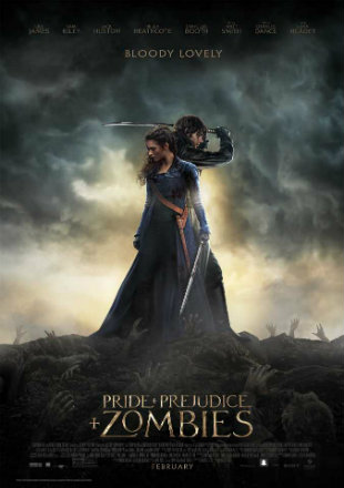 Pride And Prejudice And Zombies 2016 English 720p HDRip x264 900MB