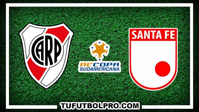 Ver River Plate vs Independiente Santa Fe EN VIVO Por Internet
