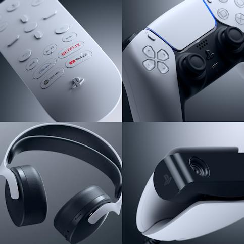 les accessoires de la PS5