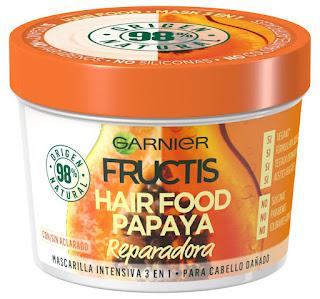 Mascarilla Fructis Hair Food Papaya