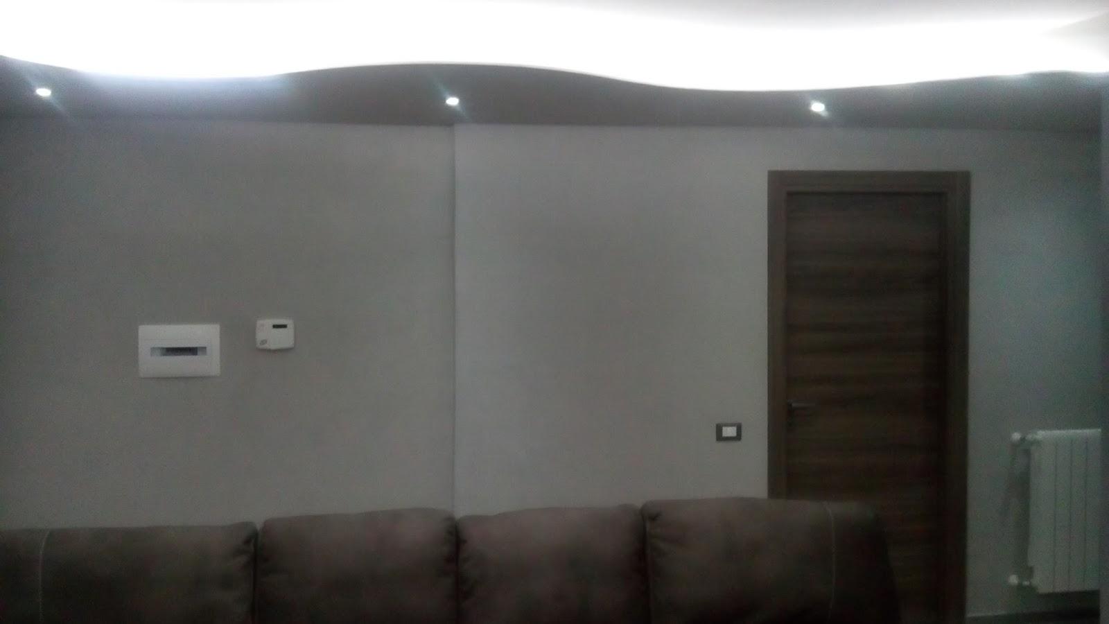 Controsoffitto In Cartongesso Translate : Architetto gaetano frudà salone moderno con controsoffitto