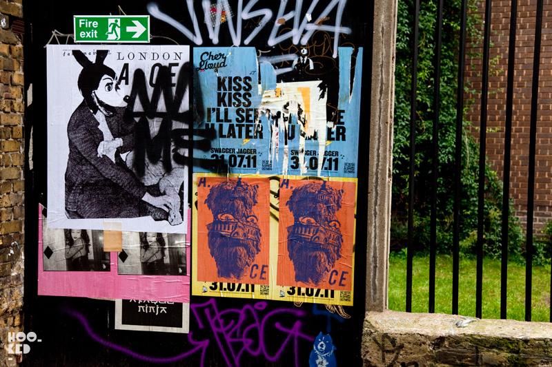 London street art by artist Ace London