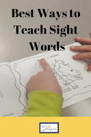 Teach Magically Blog Post about sight words