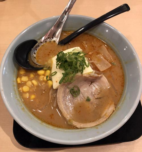 麺旋風 三種合わせ味噌バターラーメン