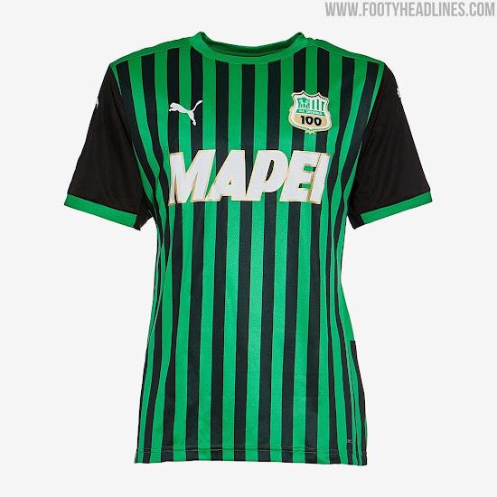 Puma US Sassuolo 20-21 Centenary Home, Away & Third Kits Released ...