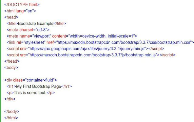 Hai trang Bootstrap cơ bản