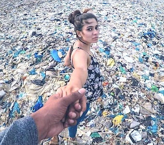 Plastic pollution of the oceans